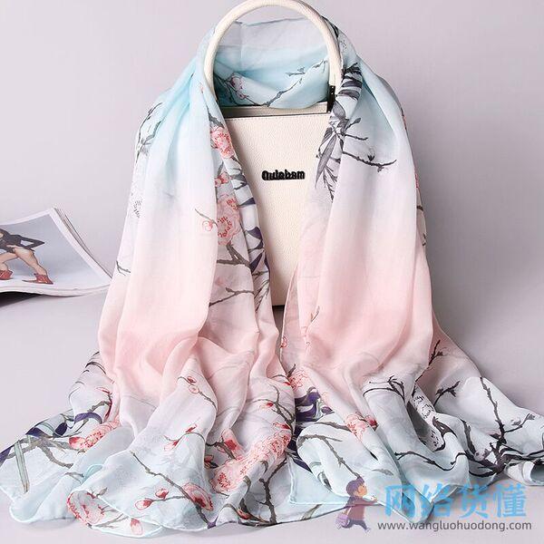 中国蚕丝丝巾品牌排行榜